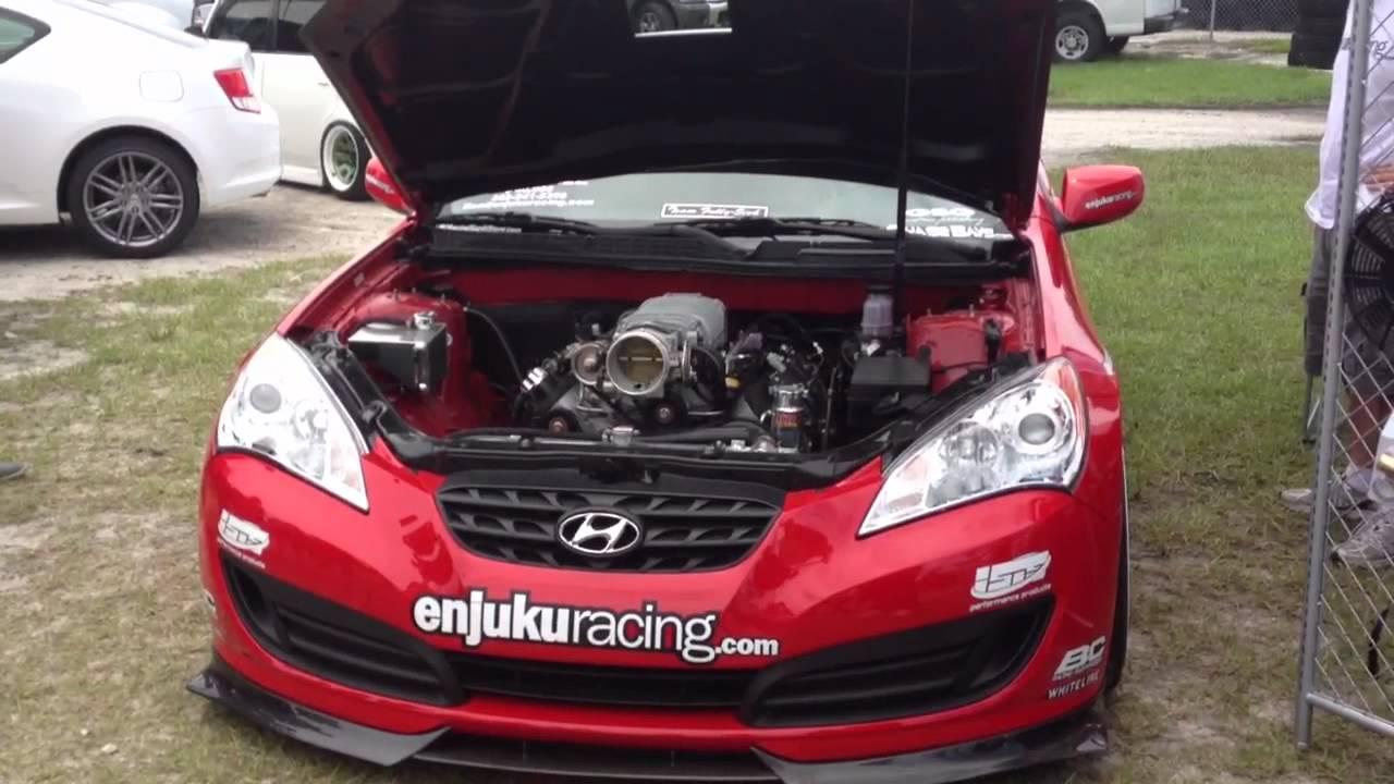 Hyundai genesis 3.8 supercharger