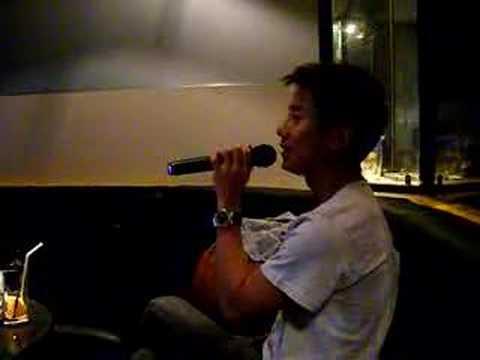 Wilfred in Karaoke!!!