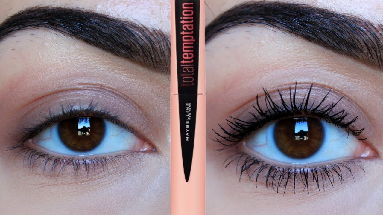 5da83cbed74 HONEST AF MAYBELLINE TOTAL TEMPTATION MASCARA REVIEW/FIRST IMPRESSION!