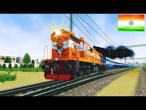 GTL WDM 3D Cab Ride    Sainagar Shirdi Mumbai Fast Passenger II MSTS II OPEN RAILS