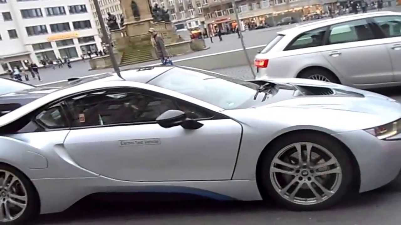New Bmw I8 Spotted On The Road In Frankfurt Youtube