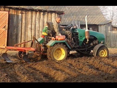 Весенние работы в саду и огороде: перекопка почвы, выгонка