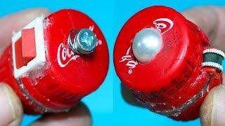 How To Make Coca-Cola Fidget Toy At Home - DIY Fidget Cube Soda Bottle