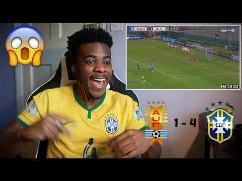 URUGUAY 1 - 4 BRAZIL 🇧🇷⚽️ | Reaction