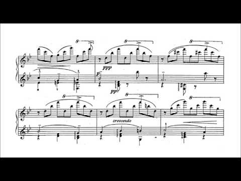 "Tchaikovsky-Pabst - Concert paraphrase on ""Sleeping Beauty"" (audio + sheet music)"