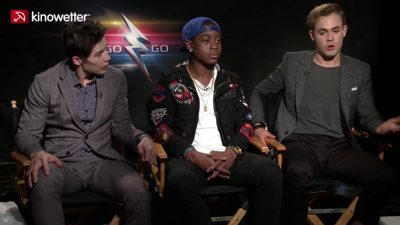 Interview Ludi Lin & RJ Cyler & Dacre Montgomery POWER RANGERS