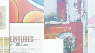 Tableaux peinture sur toile - Décoration murale contemporaine moderne