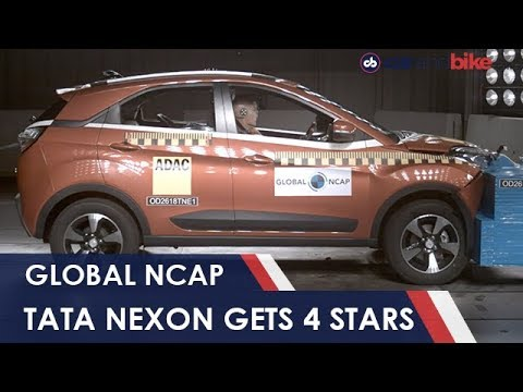 Tata Nexon Gets Four Stars From Global NCAP | NDTV carandbike