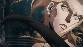 Castlevania Netflix Anime TV Show: Alucard Vs Trevor
