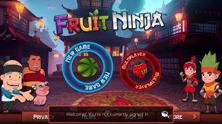 Fruit Ninja iPhone Gameplay