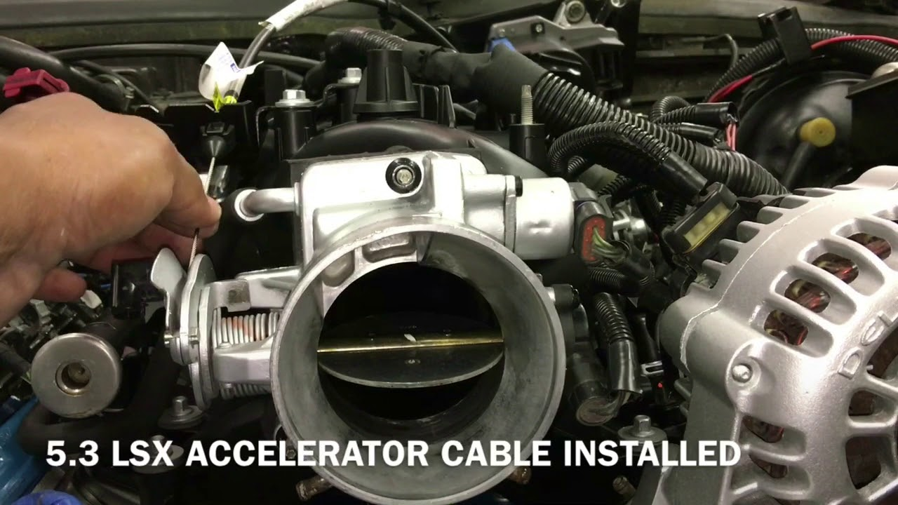 5 3 Ls Swap Part 21 Accelerator Cable Obd2 Wiring Amp A