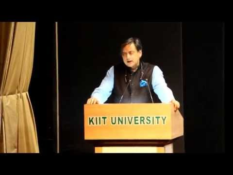 Dr. Shashi Tharoor at Conclave of Entrepreneurship, Leadership and Technology 2016 (CELT)