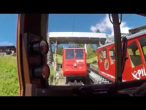 Pilatusbahn Cog Railway Real Time Cab View