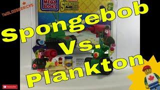 Mega Bloks Sponge Bob Mayo Tank Fight