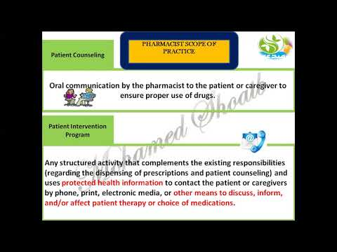 pharmacy practice part(1) by dr mohamed shoaib 2017