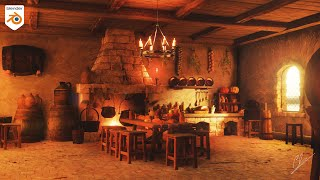 Medieval Kitchen with Blender 2 9 and Quixel JayAnAm Tutorials & 3D models