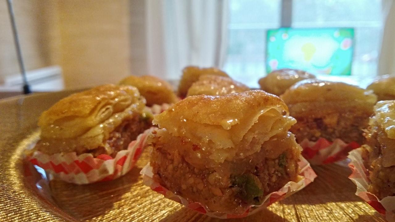 Baklawa tunisienne youtube for Cuisine olfa