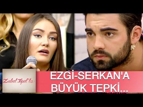 Zuhal Topal'la 92. Bölüm (HD) | Serkan - Ezgi Dansına, Deniz'den Büyük Tepki!