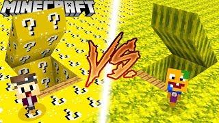 GEHEIME LUCKY BLOCK BASE VS. GEHEIME MELONEN BASE IN MINECRAFT!