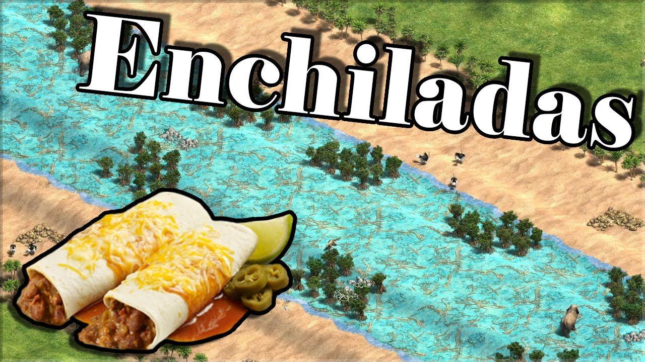 Enchiladas AoE2 Map (Game 5)