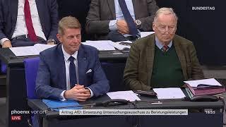 Bundestagsdebatte zur Einsetzung eines Untersuchungsausschusses zu Beratungsleistungen am 14.11.19 thumbnail
