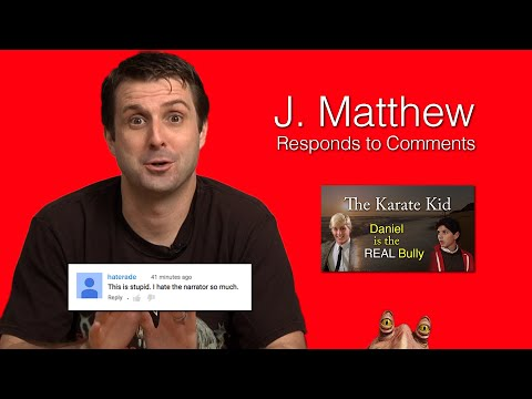 J.  Matthew Responds to Comments
