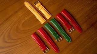 Leather Craft——Hand made watch strap