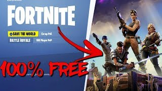 Get Save The World In Fortnite 100% Free Using This GLITCH!!