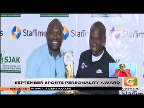 Eliud Kipchoge awarded sportsman for September