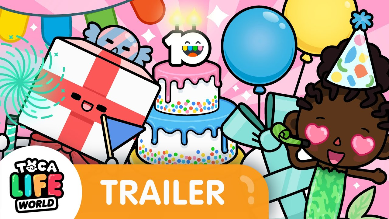 GIFTS OVERLOAD 🎁 | 10 YEAR ANNIVERSARY GIVEAWAY | Toca Life World