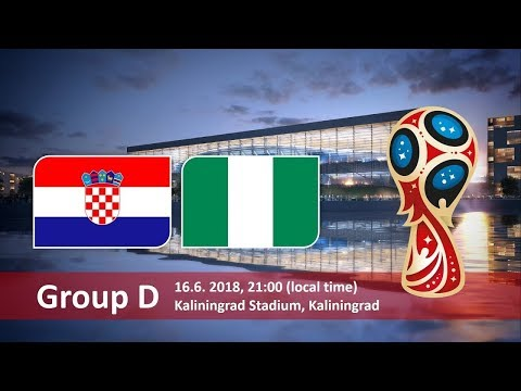 World cup 2018. Game 8 of 64 Croatia vs Nigeria. PES 18