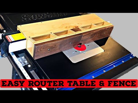How To Add A Router Lift To Table Saw Diy Router Table Rockler Pro Lift Youtube