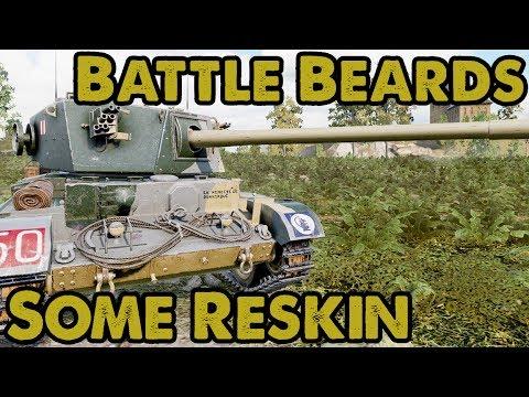 Some Reskin - Battle Beards (WoT Xbox One)