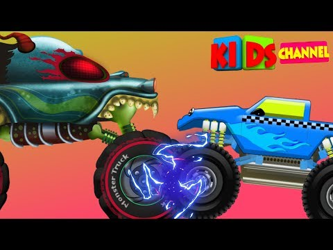 Haunted House Monster Truck | Good Monster Truck | Good v Evil Cartoon Videos by Kids Channel | EP70