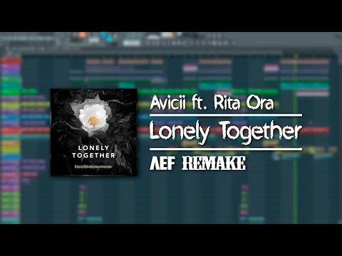 Avicii - Lonely Together ft. Rita Ora (FL Studio 12 FULL Remake | Instrumental/Karaoke)