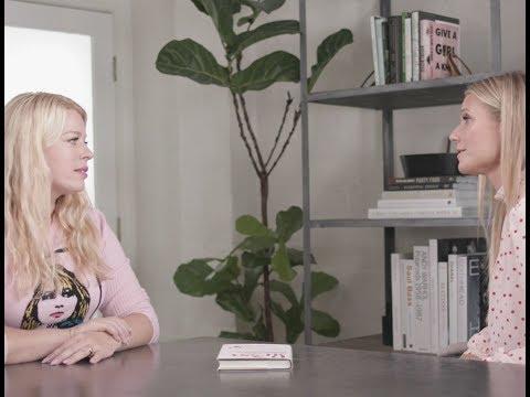Gwyneth Paltrow s Amanda De Cadenet  goop