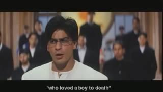 Индийский  клип из фильма  влюбленные  танцы студентов  В колледже  день рождение  шах рукх  кхан