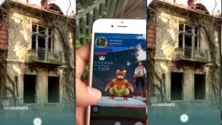Покемон Го Pokemon GO Дом с призраками гим Вылупление яиц #7 часть 4