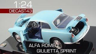 1:24 Alfa Romeo Giulietta Sprint 1954 года   Обзор