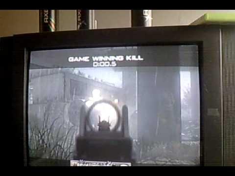 game winning kill modern warfare2