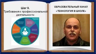 Технология в школе (выпуск 31).  8 класс.  Профориентация (шаги 10-12)