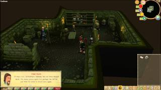 Runescape Branches of Darkmeyer part 2 of 8 Cavern and Reporting to Safalaan