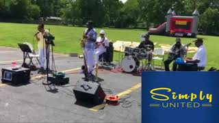 Simply United Band -  Summertime clip 7 28 18