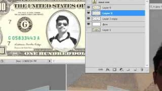 Photoshop tutorial on using dollar template.wmv