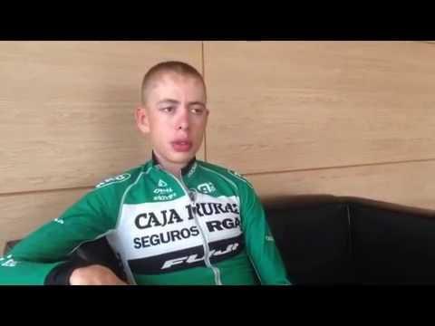 Vuelta a España 2016 - Rest-day Interview with Hugh Carthy