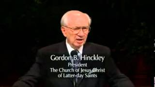 The Miracle of Faith   Gordon B  Hinckley   April 2001 General Conference