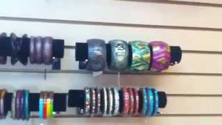 Wholesale Wood Bangles - African Jewelry - Part 1