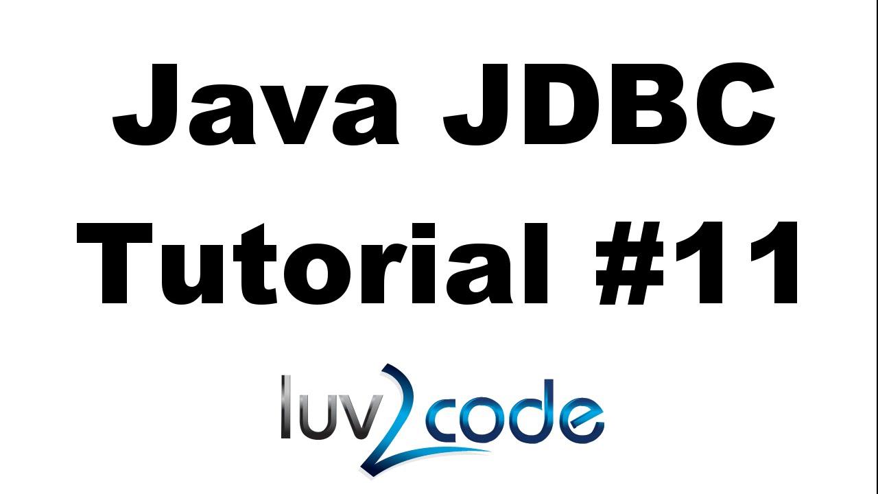 Java JDBC Tutorial – Part 11: CLOB - Reading and Writing CLOB with MySQL