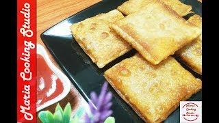 Chicken Fajita Parcels -Samosa Box Patties-Ramadan Special