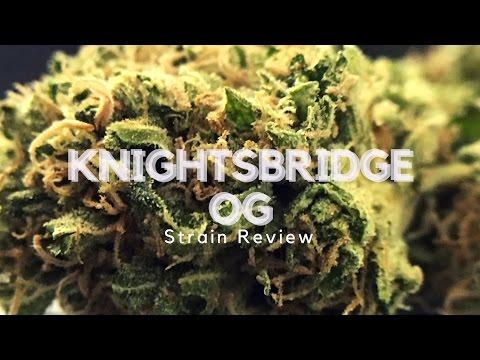 Knightsbridge OG Weed Strain Review - ISMOKE